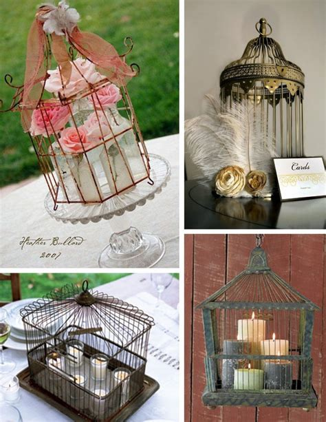 Bird Cage Decor Beautiful Birdcage Decor Ideas Primadonna