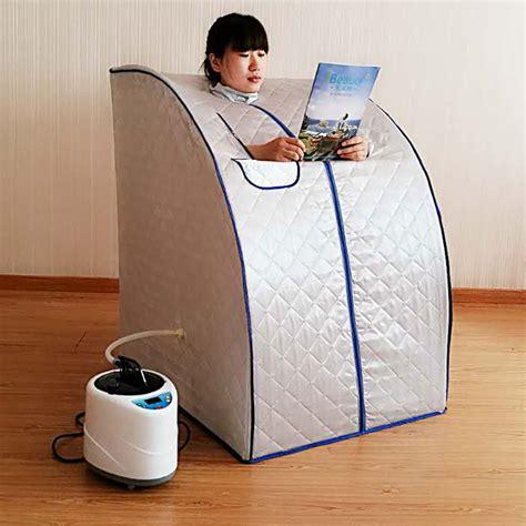 portable steam sauna with steam generator capacity of 2l weight loss home steam sauna bath spa