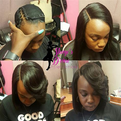 pronto bob hairstyles lace closure pronto quick weave shaye s d vine