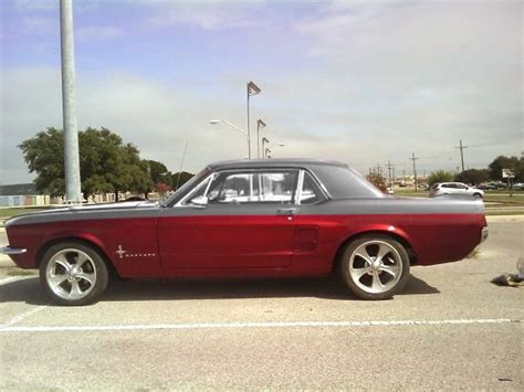 pin 1967 mustang paint colors on
