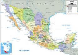 Mexico Wall Map by Mexico Political Wall Map By Graphiogre