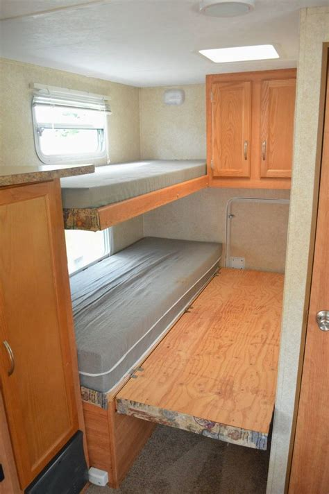 Rv Bed Frame 17 Best Ideas About Trailer Remodel On Pinterest Cers Travel Trailer Remodel And Rv