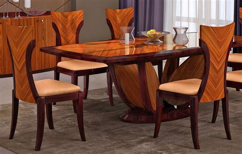 Italian Dining Tables Modern Primrose Italian Modern Dining Table Set