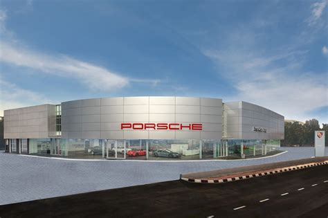 Porsche Zentrale by Penang Gets A Porsche Centre And A First Look At The 718