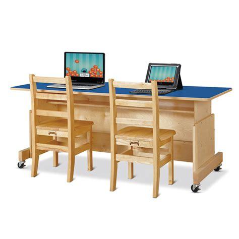 Computer Desks For Schools Jc 3359jc Apollo Computer Desk Blue