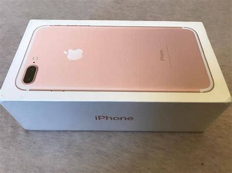 Iphone 7 128rose Gold iphone 7 plus gold 128 gb in acton gumtree