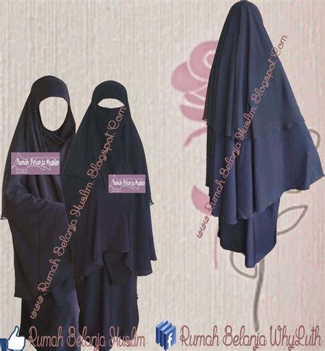 Jilbab Cadar Safar Bahan Jetblack jilbab cadar safar