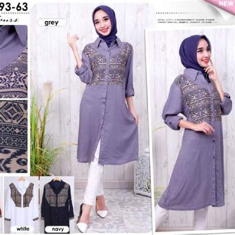 Baju Muslim Ukuran Big Size baju muslim ukuran besar model big size murah bj2323