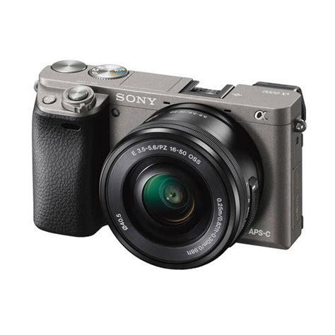 Kamera Sony Mirrorless A6000 Jual Sony Alpha A6000 Kit 16 50mm Kamera Mirrorless Graphite Grey Harga Kualitas