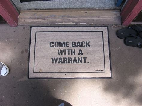 Your Rights Search Warrant Requirements The Politico Knowing Your Rights The