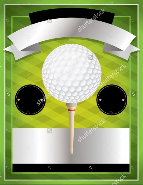 golf tournament flyer blank www imgkid the image
