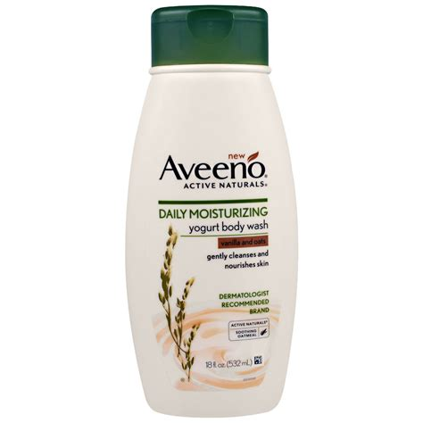 Aveeno Shower Gel by Aveeno Active Naturals Daily Moisturizing Yogurt
