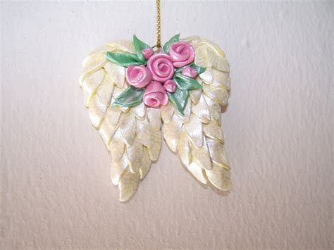 angel wing ornament my work pinterest wings