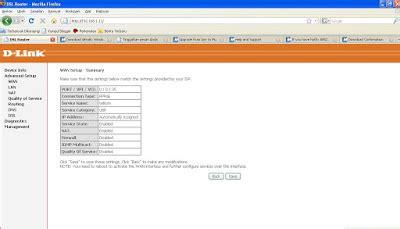 Memasang Modem Speedy setting ppoe speedy pada modem adsl d link dsl