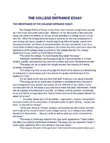 Value Of Education College Essay by 5 College Application Topics About The Value Of A College Education Essay
