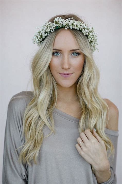 best 25 flower crown wedding ideas on wedding hairstyle flower crown app and white