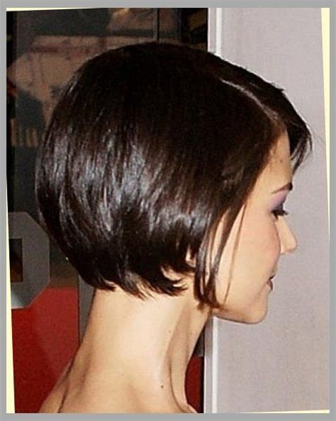 show bobs hair styles from back of head the stylish katie holmes bob haircut back view intended