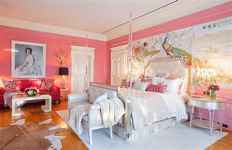 pink walls in bedroom pink room decor how to beautify your home with pink