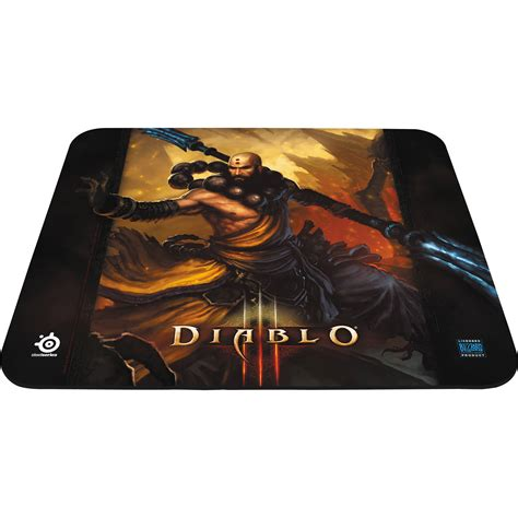 Steelseries Qck Gaming Mousepad Original steelseries qck diablo iii gaming mouse pad monk edition 67228