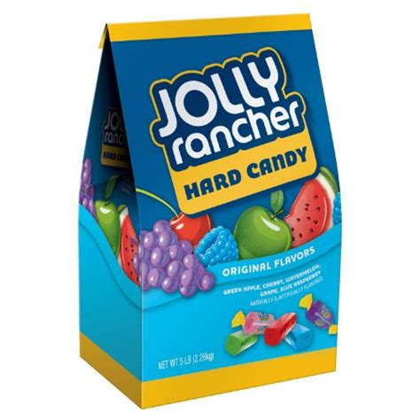 Jolly Rancher Grape Strawberry Blue Raspberry Apple jolly rancher assortment watermelon apple cherry grape blue raspberry 5 pound