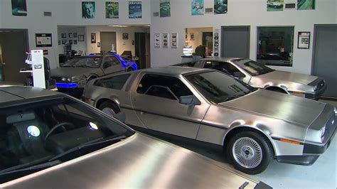 what year is the delorean from back to the future back to the future delorean back in production after 34