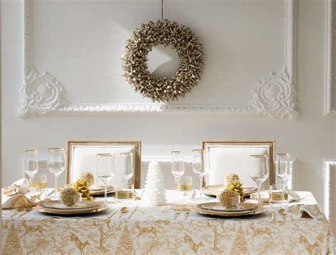 deco table noel blanc et noir