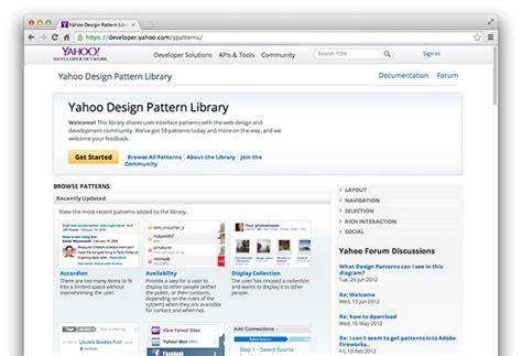 pattern library yahoo auf der suche nach der perfekten pattern library