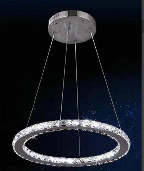 Stainless Steel Chandelier Fashion Ring Chandeliers Led Ls Stainless Steel Led Chandelier High Power Led Lustre