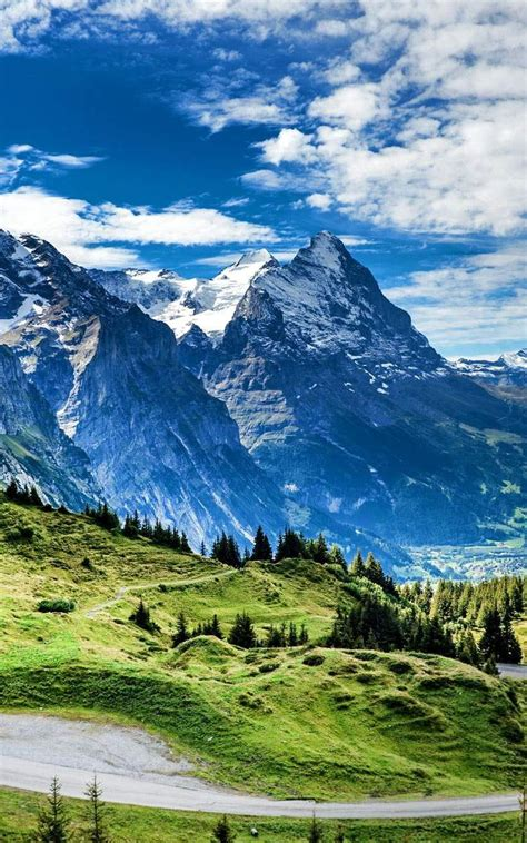 grosse scheidegg switzerland wallpaper