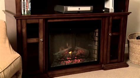 media console electric fireplaces pasadena 28 quot electric fireplace media console