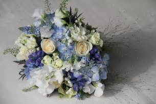 blue wedding bouquets the flower magician beautiful blue wedding bouquet