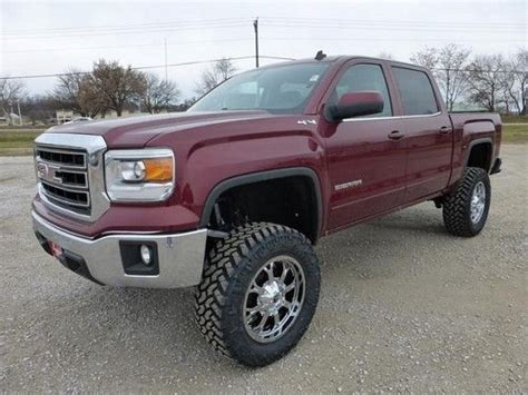 lifted gmc red red lifted gmc sierra truck lifted gmc sierra trucks