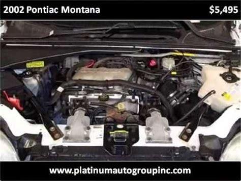 motor repair manual 2002 pontiac montana head up display 2002 pontiac montana problems online manuals and repair information
