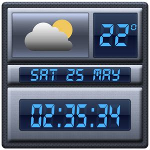 digital clock widget apk digital clock weather widget android apps on play