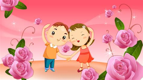 wallpaper of cartoon couple cute cartoon couple wallpaper 7435