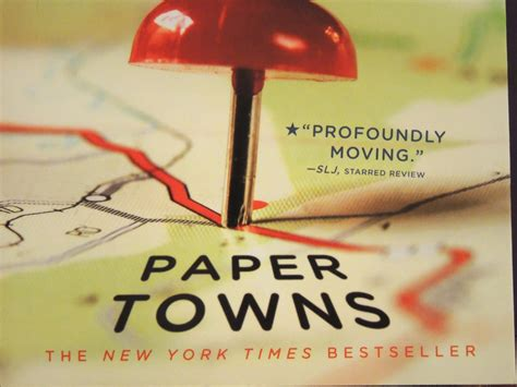 Paper Town By Green paper towns colours and empty spaces the uncanny book club