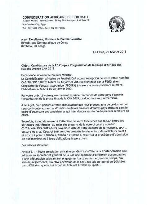 Modèles De Lettre Circulaire La Caf Demande L Annulation De La Circulaire De Banza