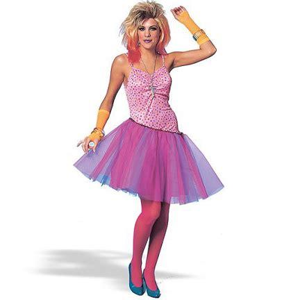 80s glam girl costume / eighties costumes