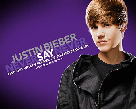 never say never bieber never say never