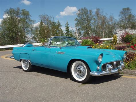 Exterior Home Colors 2017 by 1956 Ford Thunderbird Convertible 188979