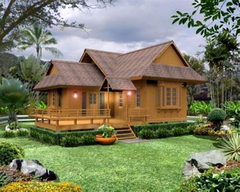 layout rumah kayu 30 desain rumah kayu mewah elegan klasik dan cantik