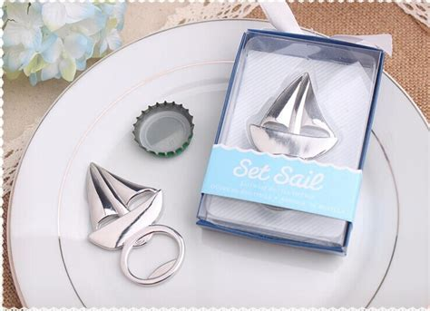 wedding shower guest gifts 2 wholesale wedding favor sailboat bottle opener themed wedding guest gifts souvenirs bridal