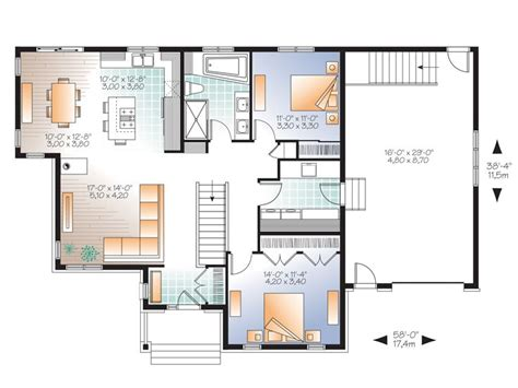 empty nester floor plans empty nester home plans affordable empty nester house