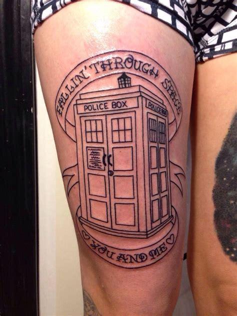 tardis tattoo design doctor who tardis obsession