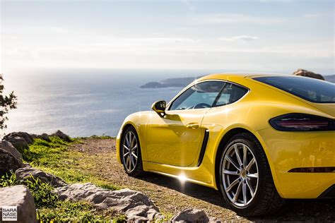 porsche cayman yellow first drive porsche 718 cayman racing yellow in south