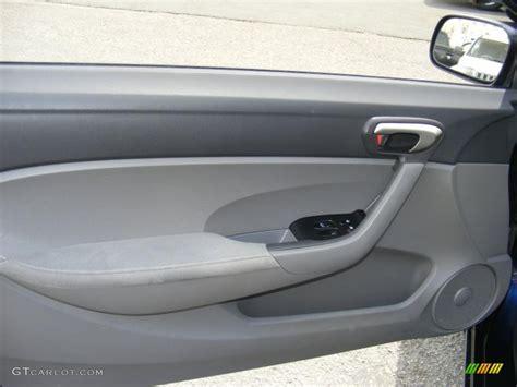 2007 honda civic lx coupe gray door panel photo 48426061