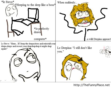 Derp Meme Pictures - funny le derp thefunnyplace