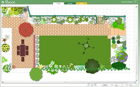 backyard planning software my garden planner garden design software shoot