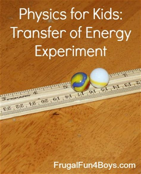 the simple physics of energy use books transfer of energy science experiment frugal for
