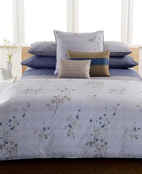 bamboo bedding set calvin klein bamboo flowers comforter bedding collections bed bath macy s